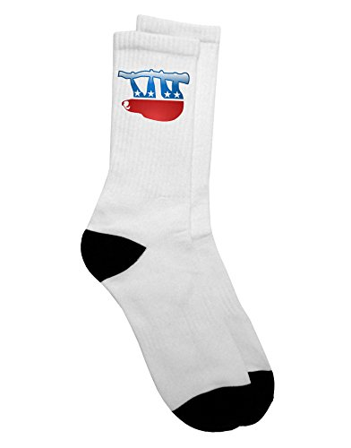 Tooloud Sloth Political Party Symbol Adult Crew Socks -