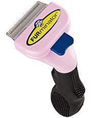 FURminator Short Hair deShedding Tool for Cats, Small