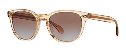 Oliver Peoples Sheldrake Sunglasses (47 mm, Blush Frame Rose - Oliver Shop Peoples