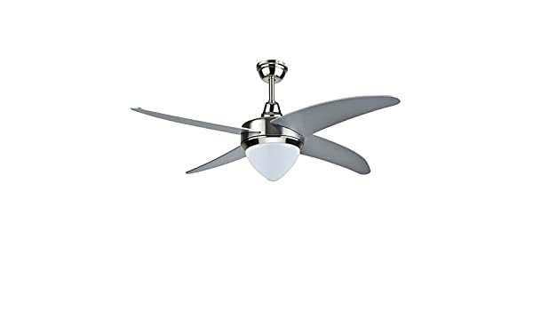 Ventilador de techo 132 cm Chic 4 aspas de MDF con luz 60 W con ...