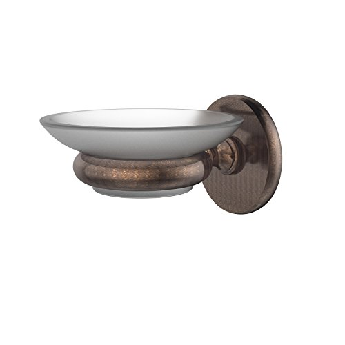 Allied Brass P1062-VB Prestige Skyline Collection Wall Mounted Soap Dish, Venetian Bronze