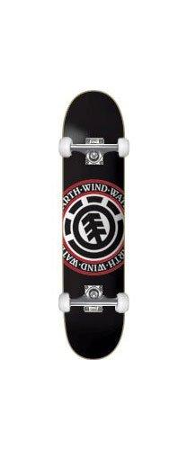 """Element Skateboards Seal Black Complete Skateboard - 8"""" x 32"""""""