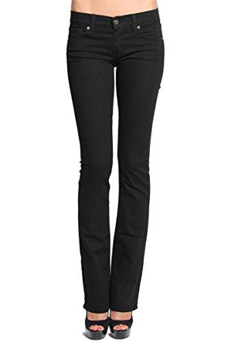 TheMogan Women's Basic Slim BOOTCUT JEANS Flare Pants - Jeans Bootcut Essentials
