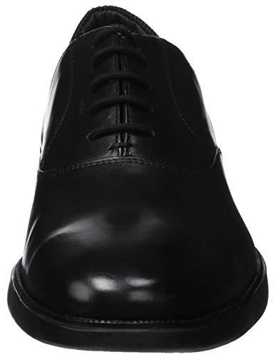black U Winfred C9999 A Zapatos Hombre De Oxford Para Cordones Geox aAqzRwW44