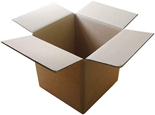 MGS SHOP Versandkarton Karton Set Größe L1 mittel 15 Stück 260 x260 x 260 mm 2-wellig