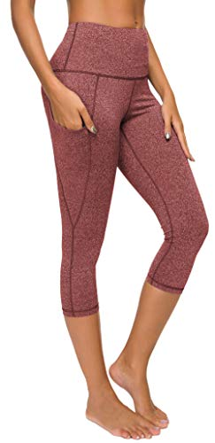 Custer's Night Out Pocket High Waist Yoga Pants,Tummy Control,Pocket Workout Yoga Pant