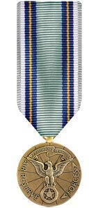 Medals of America Air Reserve Forces Meritorious Service Medal Miniature Bronze