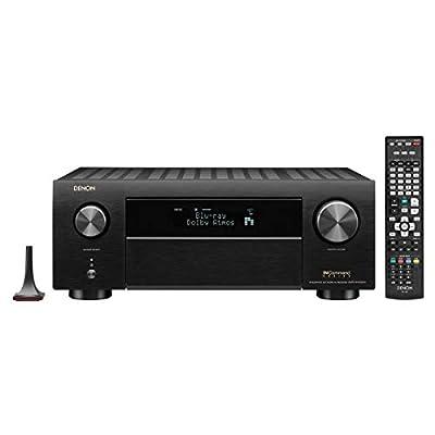 Denon AVRX4500H Denon 9.2 Channel 4K AV Receiver with 3D Audio and Alexa Voice Control Black