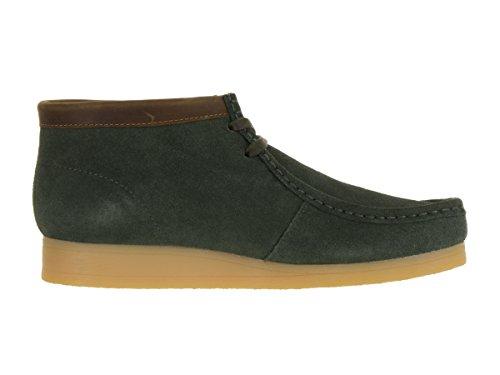 Clarks Mens Stinson Hi Chukka Boot 16505 Verde