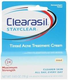 Crème Traitement Clearasil Daily Acne Control fuite acné, 1 oz (28 g)