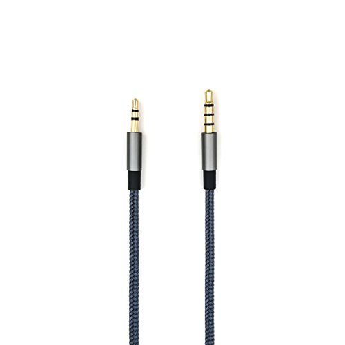 NewFantasia 3.5mm - 2.5mm Male Replacement Cable Compatible with Bose oe2, oe2i, AE2, QC35 Headphones, Remote Volume Control & Mic Cord Compatible with Samsung Galaxy Sony Xiaomi Huawei Android Phone by NewFantasia (Image #3)