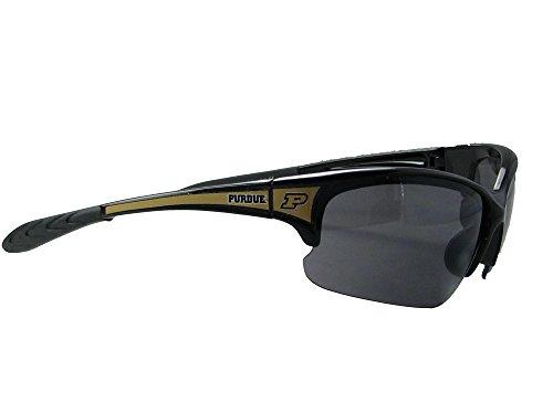 Sports Accessory Store Purdue Boilermakers Black Old Gold Elite Mens Sunglasses S7JT