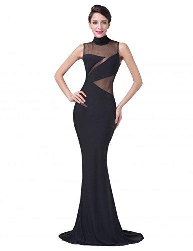 Damen KARIN GRACE Kleid Schwarz Cocktail 4Zwq6w