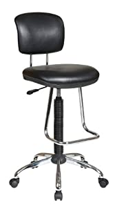 Amazon Com Office Star Pneumatic Drafting Chair With