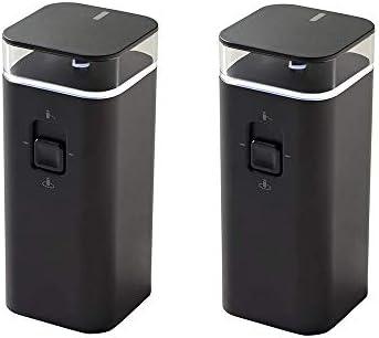 Barrière murale virtuelle double mode pour iRobot Roomba série 5 6 7 8 9 3 Pack noir