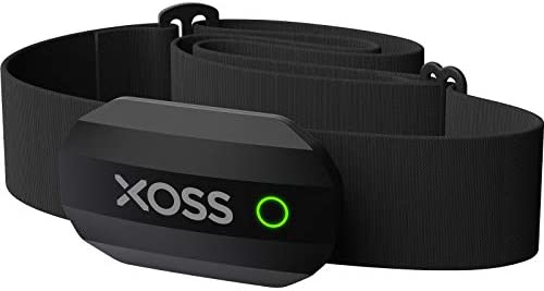 XOSS CHEST STRAP HEART RATE MONITOR BLUETOOTH 4.0 WIRELESS HEART RATE WITH CHEST STRAP HEALTH ACCESSORIES (BLACK BLUETOOTH&ANT+)