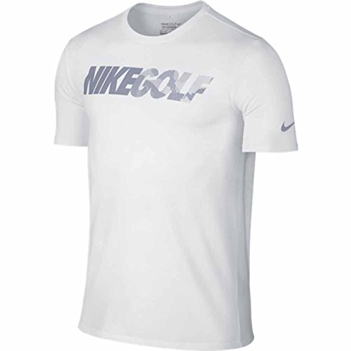 Nike Golf Graphic Tee (White/Reflective Silver) M