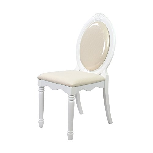 ACME 01689 Flora Chair, White Finish by ACME