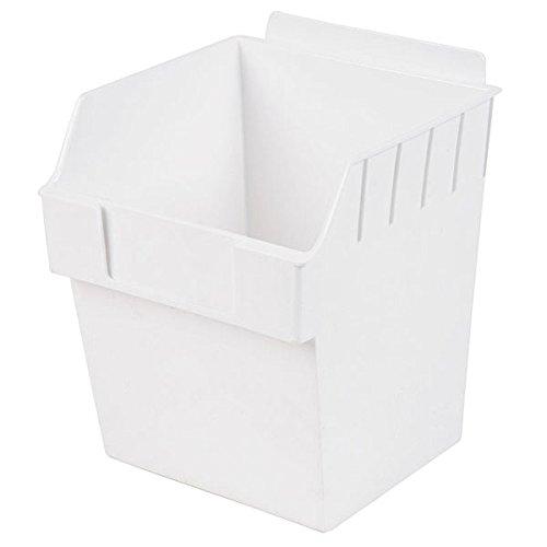 Retail Clear finish Cube Storbox bin 5.90''d x 5.90''w x 7.0''h by Storbox