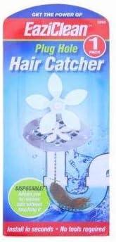 Kitchen Sink Cleaner Remover Chain Hook Shower Hair Plug Hole Catcher Strainer