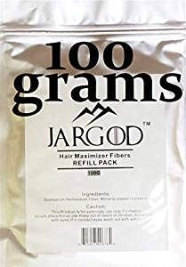 100 Gram Hair Building Fibers - Refill Your Existing Fiber Bottle - Hair Filler Fibers - Hair Loss Concealer For Thinning Hair by JARGOD (Dark Brown)