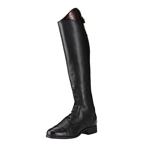 Ariat Womens Heritage Ellipse High Riding Black Cobra Print