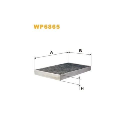 Wix Filters WP6865 Cabin Air Filter: