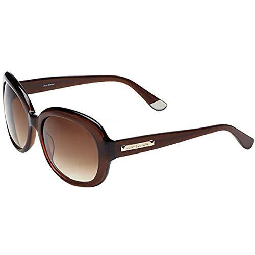 (Juicy Couture JU537S Oval Sunglasses,Brown Glitter,57 mm)