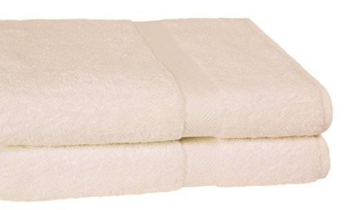 UPC 062064554080, Homestead Textiles All American Cotton Line 100-Percent Pima 2-Piece Oversized Bath Sheet/Towel Set, Ivory