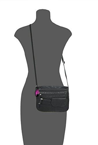 Organiser Mink Handbag Body Colour Across Ladies Mink pwCqUfCW