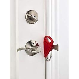 Addalock – (1 Piece ) The Original Portable Door Lock, Travel Lock, AirBNB Lock, School Lockdown Lock