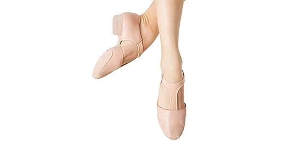 Bloch Women's Elastospllit Grecian 5 ShoePink9 Dance 76gbfy