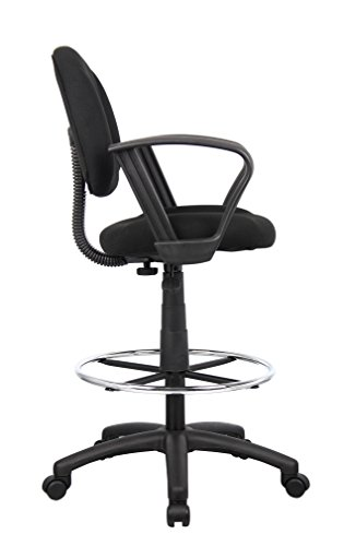 Boss Office Products B1617 Bk Ergonomic Works Drafting