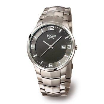 Boccia Men's Quartz Watch 3561-02 3561-02 with Metal Strap