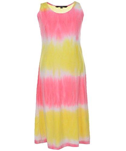 "Just Love Big Girls' ""Ethereal Sun"" Maxi Dress - yellow, 7 - 8"