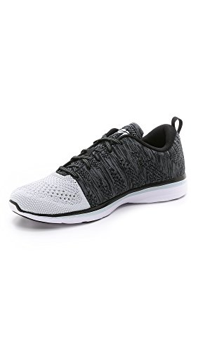 Price comparison product image APL: Athletic Propulsion Labs Men's TechLoom Pro Running Sneakers,  White / Black / Cosmic Grey