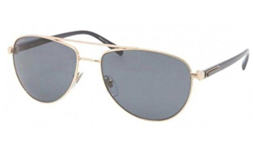 BVLGARI Mens BV5026K Gold/Grey Sunglasses - Sunglasses S Bvlgari