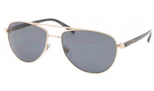 BVLGARI Mens BV5026K Gold/Grey Sunglasses - Sunglasses S Bvlgari