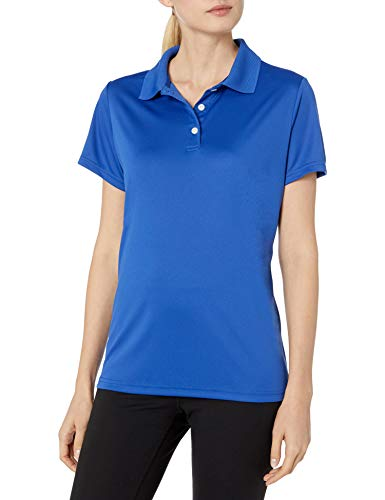 Hanes Sport Women's Cool DRI Performance Polo,Deep Royal,Small
