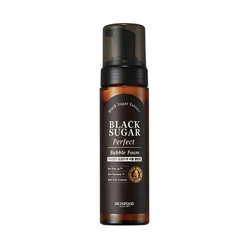 [Skin Food] Black Sugar Perfect Bubble Foam 200ml (Sugar Skin Black Food)