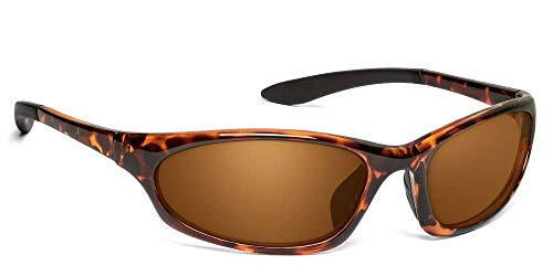 - ONOS Ocracoke Polarized Sunglasses (+2.5 Add Power), Tortoise Frame, Amber Lens