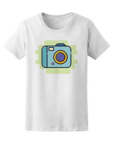 Digital Camera Doodle Tee Women's -Image by Shutterstock from Teeblox