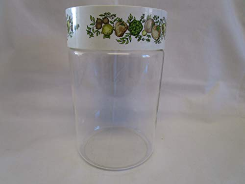 (Vintage Pyrex Spice of Life Glass Canister Replacement - 7.5