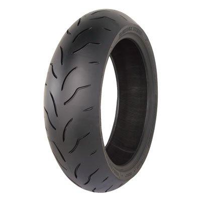 (190/55ZR-17 (75W) Bridgestone Battlax BT016 Pro Hypersport Rear Motorcycle Tire for Yamaha YZF-R1 2009-2018)
