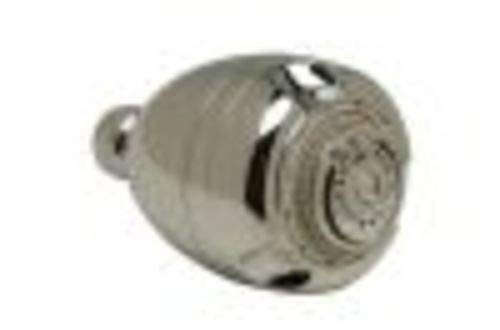 2.5 gpm Flow Rate Zurn Z7000-S1 Temp-Gard Standard ABS Plastic Chrome-Plated Shower Head with Brass Ball Joint Connector