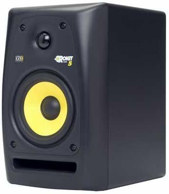 KRK ROKIT 5 G2 SE 45W Color Blanco, Amarillo Altavoz - Altavoces (De 2 vías, Alámbrico, RCA, 45 W, 52-20000 Hz, Blanco, Amarillo): Amazon.es: Electrónica