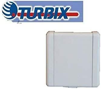 Toma de PVC cuadrado blanco para aspirador centralizado TURBIX ...