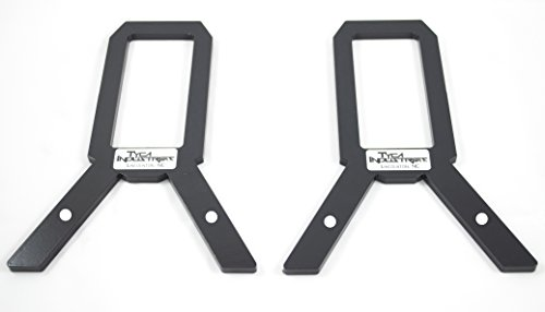 TyCa Industries 2x4 Target Stand Brackets AR500 Steel - 250lb Capacity - Powdercoated - Most Popular Stand On Amazon