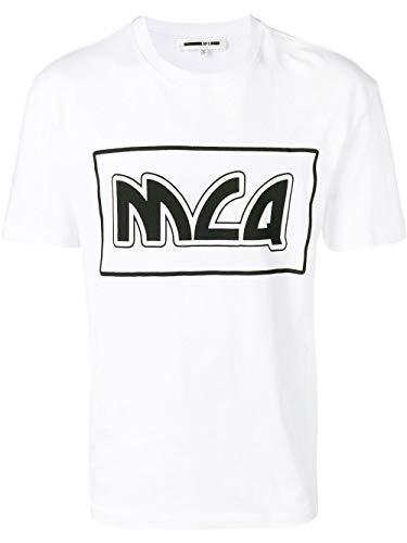 MCQ by Alexander McQueen Men's 291571Rmt399000 White Cotton T-Shirt