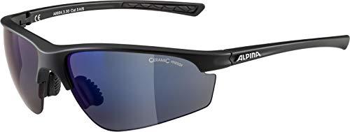 Alpina Unisex – Erwachsene TRI-Effect 2.0 Sportbrille, Black matt, one Size
